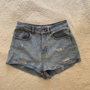 Brandy Melville High-Waisted Jean Shorts